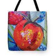 Garden Harvest Collage Detail Tote Bag