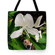 Garden Hound Tote Bag