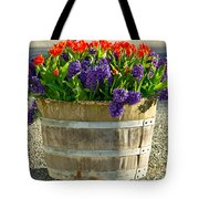Garden In A Bucket Tote Bag by Eti Reid