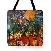 Garden In Moonlight Tote Bag