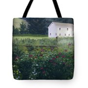 Garden In The Back Tote Bag
