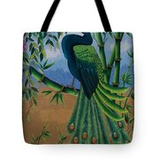 Garden Jewel 1 Hand Embroidery Tote Bag
