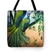 Garden Jewel II Hand Embroidery Tote Bag by To-Tam Gerwe