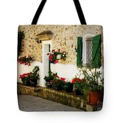 Garden Ledge Tote Bag by Lainie Wrightson
