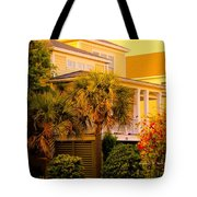 Garden Light At Isle Of Palms Tote Bag