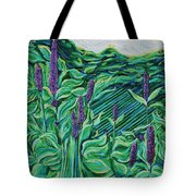 Garden Mint Tote Bag