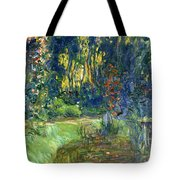 Garden Of Giverny Tote Bag
