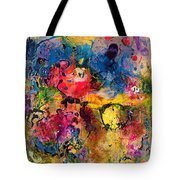 Garden Of Heavenly And Earthly Delights Tote Bag