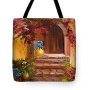 Garden Of Serenity Tote Bag