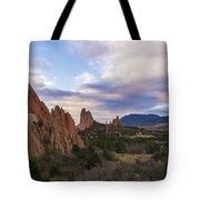Garden Of The Gods At Sunrise - Colorado Springs Tote Bag