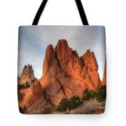 Garden Of The Gods Colorado Tote Bag