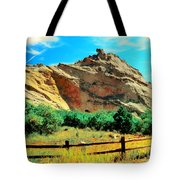 Garden Of The God's-colorado Tote Bag