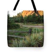 Garden Of The Gods In Morning Sun Tote Bag