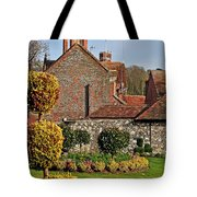 Garden Of Winchester Tote Bag
