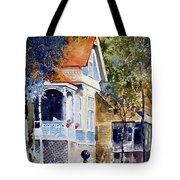 Garden Orb Tote Bag by Monte Toon