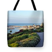 Garden Overview - Lyme Regis Tote Bag
