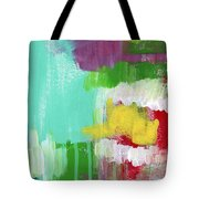 Garden Path- Abstract Expressionist Art Tote Bag
