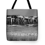 Garden Pier Atlantic City Tote Bag
