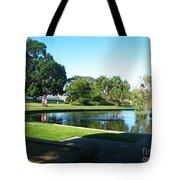 Sydney Botanical Garden Lake Tote Bag