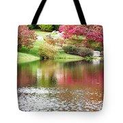 Garden Pond Tote Bag