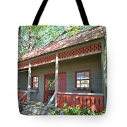 Garden Porch At Calloway Gardens Tote Bag