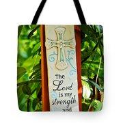 Garden Prayer Tote Bag