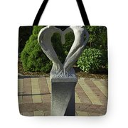 Garden Sculpture Tote Bag