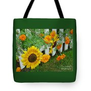 Garden Show-offs Tote Bag