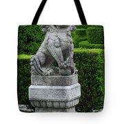 Garden Statue Tote Bag