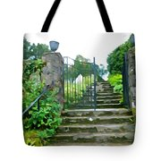 Garden Steps Tote Bag