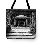 Garden Structure 1bw Tote Bag