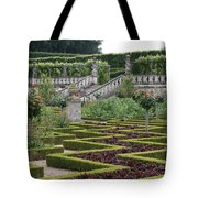 Garden Symmetry Chateau Villandry  Tote Bag