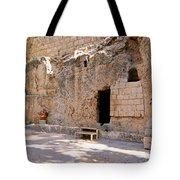 Garden Tomb Tote Bag
