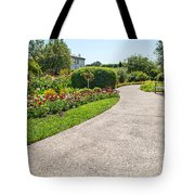 Garden Walkway Tote Bag