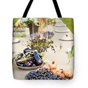Garden Wedding Table Tote Bag