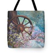 Garden Wheel Tote Bag