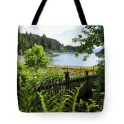 Garden With A View Tote Bag