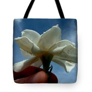 Gardenia For You My Dear Tote Bag
