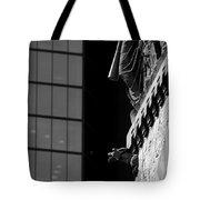 Gargoyle And Glass Tote Bag