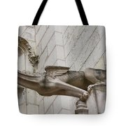 Gargoyle Cathedral Tours Tote Bag