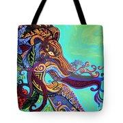 Gargoyle Lion 3 Tote Bag