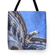 Gargoyle On Sacre Coeur Tote Bag