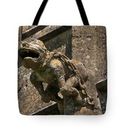 Gargoyle On The Church Of St Mary At Sudeley Castle Tote Bag