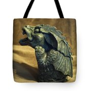 Gargoyle Or Grotesque Profile Tote Bag