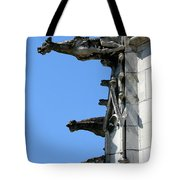 Gargoyles In A Row Tote Bag