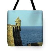 Garita Of San Christobal Tote Bag