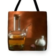 Garlic And Olive Oil. Tote Bag