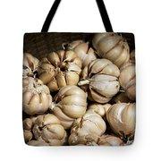 Garlic In A Basket. Tote Bag