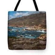 Garrapata Coast Tote Bag
