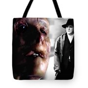 Gary Oldman And Anthony Hopkins In The Film Hanibbal By Ridley Scott Tote Bag